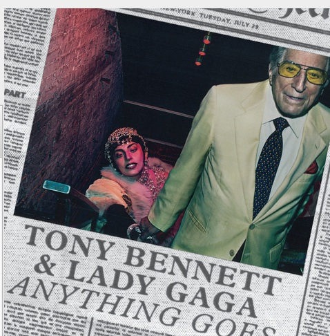 BREAKING: Tony Bennett & Lady Gaga's 'Cheek To Cheek' Gets 9/23 Release Date; Check Out Album Art!