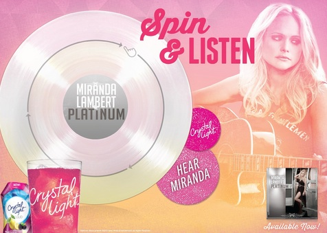 First-Ever 'Playable Poster' Now Available on Miranda Lambert's 'Platinum' Tour