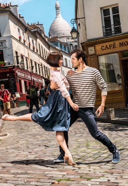 Photo Flash: First Publicity Images for Broadway-Bound Musical AN AMERICAN IN PARIS Released!