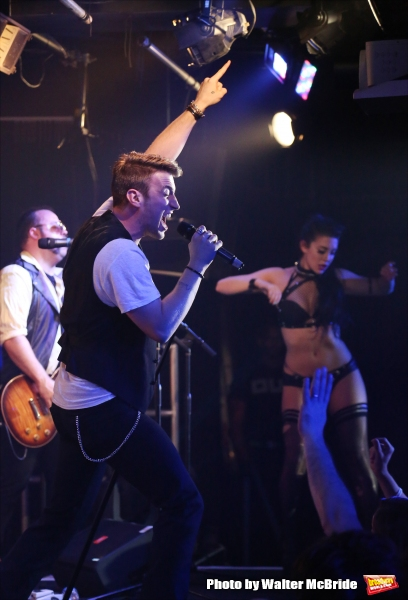 Photo Coverage: Constanine Maroulis, Billy Magnussen & More Rock Out for BROADWAY THE HARDWAY - Part One