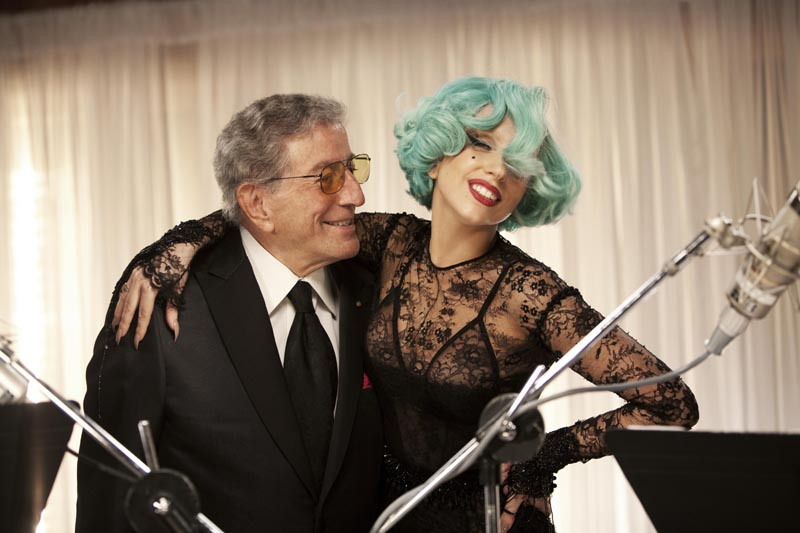 Lady Gaga & Tony Bennett Discuss New Duets Album On Red Carpet