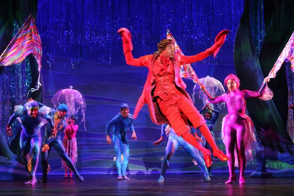 Photo Flash: First Look at Jessica Grove, Alan Mingo Jr. and More in North Carolina Theatre's THE LITTLE MERMAID