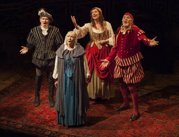 Robert Foxworth as Reginald Paget, Elizabeth Franz as Jean Horton, Jill Tanner as Cec Photo