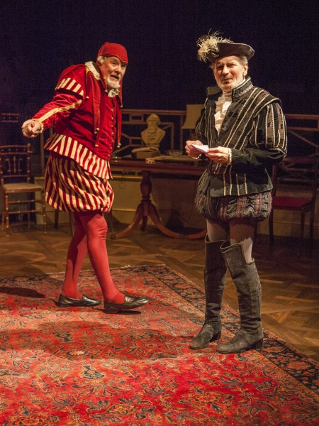 Roger Forbes as Wilfred Bond and Robert Foxworth as Reginald Paget Photo