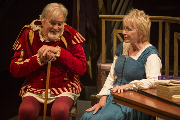 Photo Flash: First Look at Roger Forbes, Robert Foxworth, Elizabeth Franz and Jill Tanner in QUARTET at The Old Globe