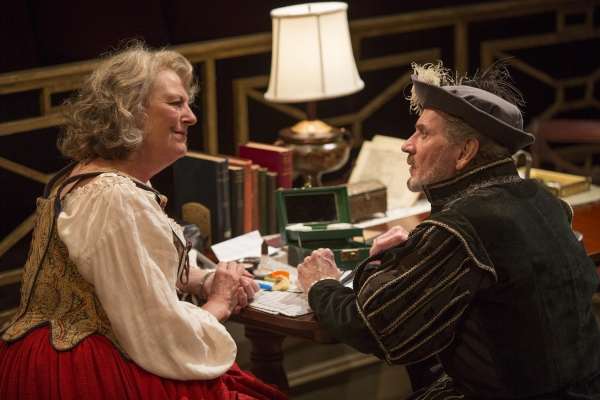 Jill Tanner as Cecily Robson and Robert Foxworth as Reginald Paget