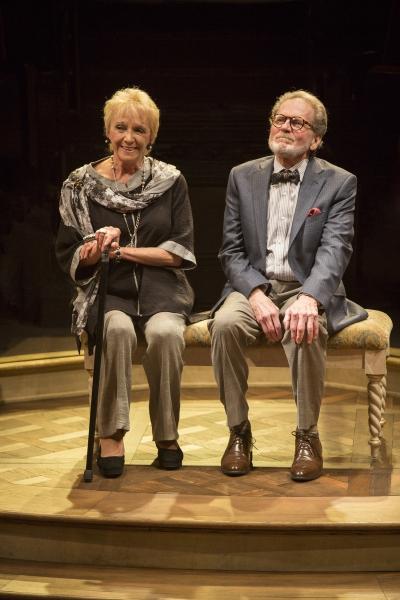 Elizabeth Franz as Jean Horton and Robert Foxworth as Reginald Paget Photo