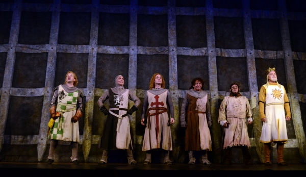 The Cast of Pittsburgh CLO''s SPAMALOT