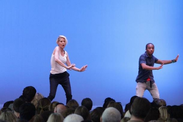 Photo Flash: SYTYCD's tWitch, Allison Holker and Alex Wong Host National Dance Day Celebration in NYC