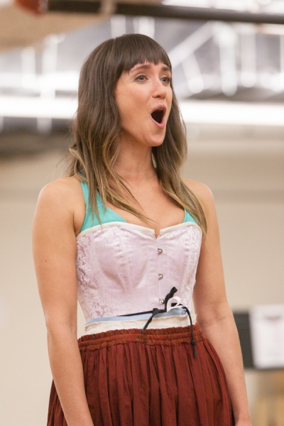 Photo Flash: First Look at Claybourne Elder, Brynn O'Malley and More in Rehearsals for Signature Theatre's SUNDAY IN THE PARK WITH GEORGE