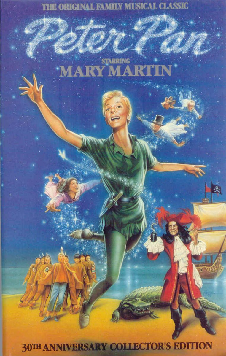 THEATRICAL THROWBACK THURSDAY: PETER PAN On TV, Mary Martin To Allison Williams