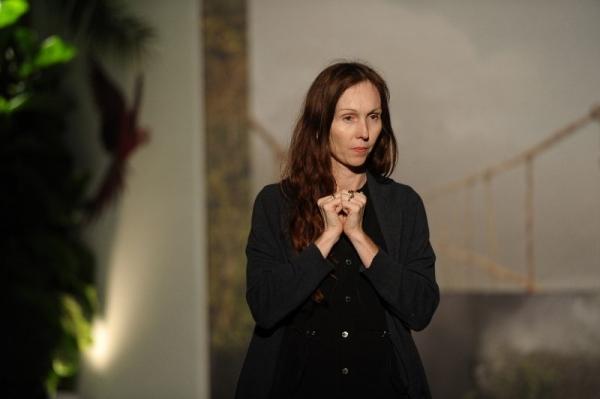 Andrea Grover, curator at Parrish Muesum