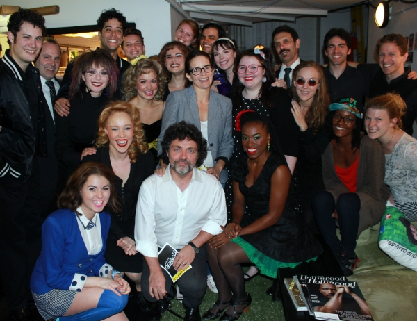 Photo Flash: Tina Fey Goes Backstage at HEATHERS Off-Broadway