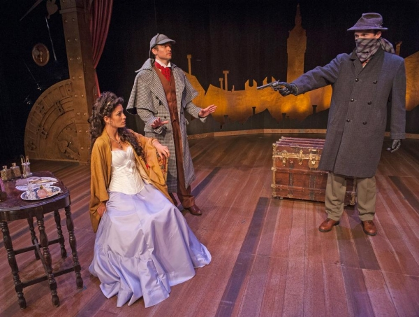 Photos: First Look at Cortland Rep's SHERLOCK HOLMES AND THE CASE OF THE JERSEY LILY, Opening Tonight