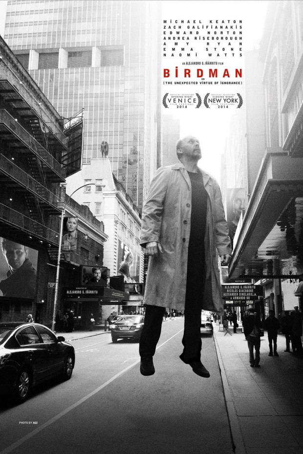 Airy Poster Set For New Broadway-Themed Film BIRDMAN