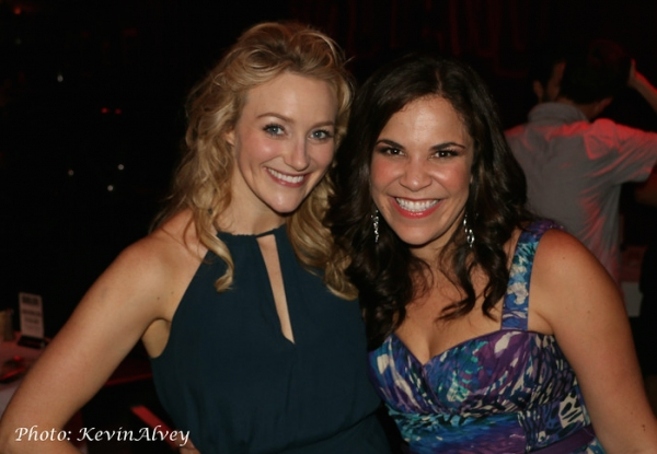 Betsy Wolfe, Lindsay Mendez