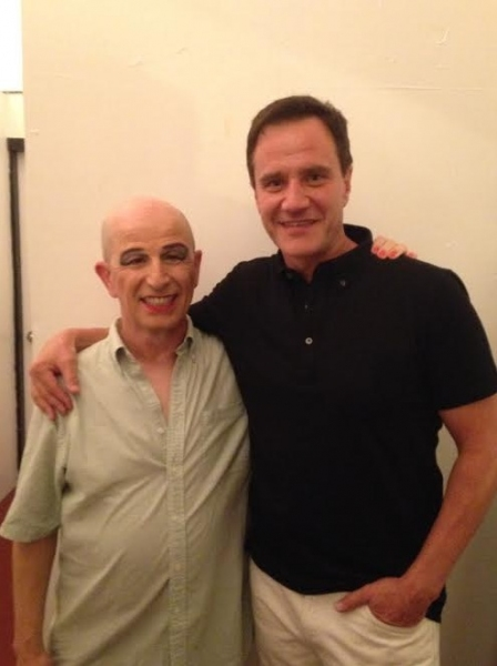 Everett Quinton and Tim DeKay. Photo by Dan Swern.