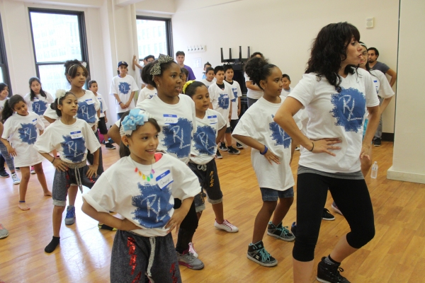 Photo Flash: Andy Karl, Bianca Marroquin and More Teach at R.Evolucion Latina's DARE TO GO BEYOND Camp