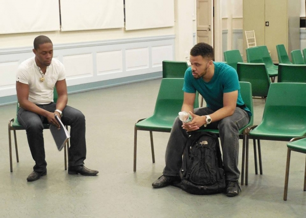 Photo Flash: In Rehearsal with DTEG's SON OF A PREACHER MAN