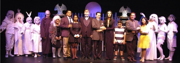 Photo Flash: Meet the Cast of Connecticut Cabaret Theatre's THE ADDAMS FAMILY - THE MUSICAL