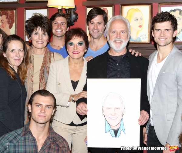 Lucie Arnaz, Priscilla Lopez, John Rubinstein and Kyle Dean Massey with cast Photo