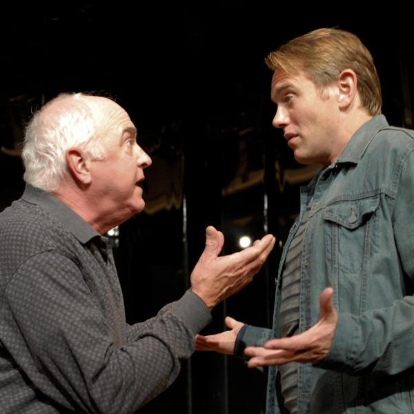 Larry John Myers (Salter) and Jay Stratton (Michael Black) Photo