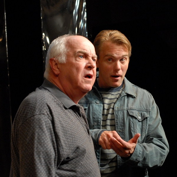 Larry John Myers (Salter) and Jay Stratton (Michael Black)