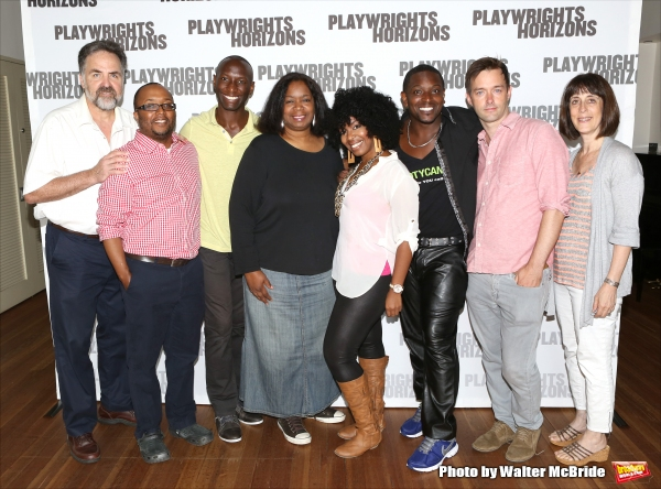 Artistic Director Tim Sanford, playwright/director Robert O''Hara, Phillip James Brannon, Benja Kay Thomas, Jessica Frances Dukes, Lance Coadie Williams, Jesse Pennington and Managing Director Leslie Marcus