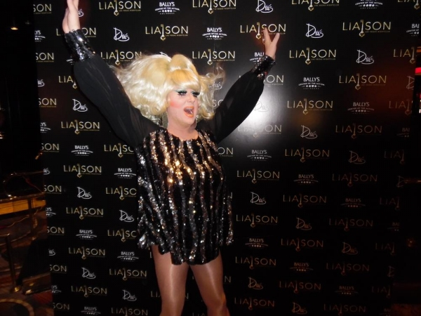 Photo Flash: Lady Bunny Kicks Off 'Library Thursdays' at Bally's Liaison Nightclub