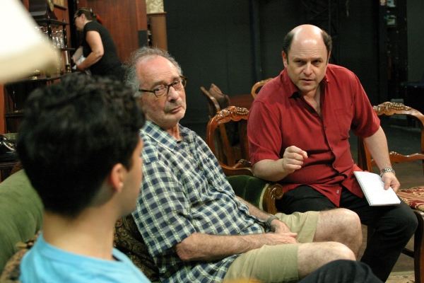 Jason Alexander directs Noah James and Allan Miller