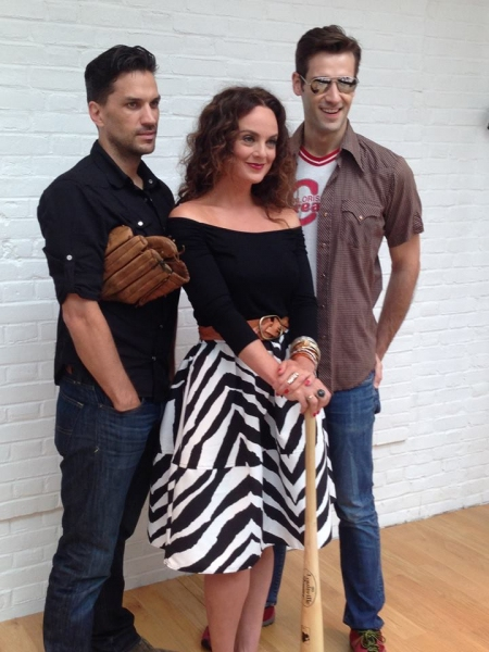 Photo Flash: First Look- Melissa Errico, Will Swenson, & John Behlmann in BULL DURHAM