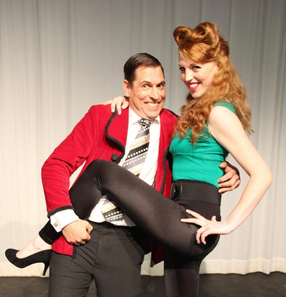 950s husband Fred Bunson (Gary de-Vries) doesn't quite know what to make of sexually frustrated alien Yoni (Kate Lloyd)