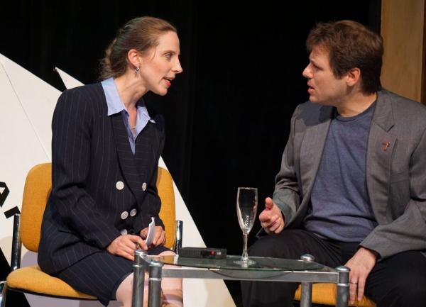 Amanda Menard and Seth Jarvis