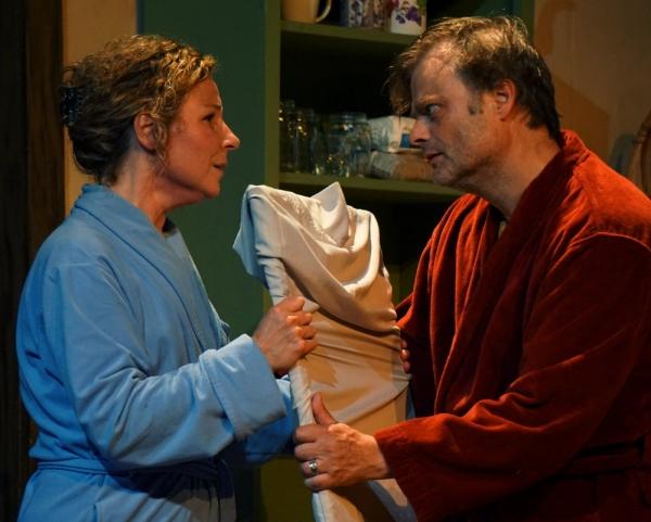 Linda Ianuzzi and Hugh Davies