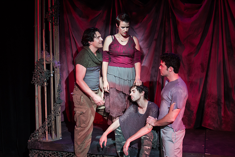 BWW Reviews: Coeurage Theatre Company Finds the Art in ANDRONICUS