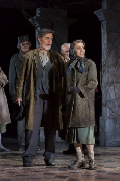 Roger Rees and Judy Kuhn