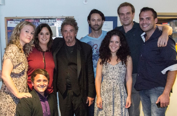Photo Flash: Al Pacino Visits Julia Stiles, James Wirt & Company at Off-Broadway's PHOENIX