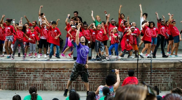 Photo Flash: Rickey Tripp, Rebecca Larkin and Luis Salgado Help Close R.Evolucion Latina's 7th Annual D2GB Camp