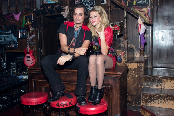 Photos Constantine Maroulis Returns To Rock Of Ages