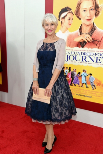 Photo Flash: Oprah, Helen Mirren & More Attend NY Premiere of THE HUNDRED FOOT JOURNEY