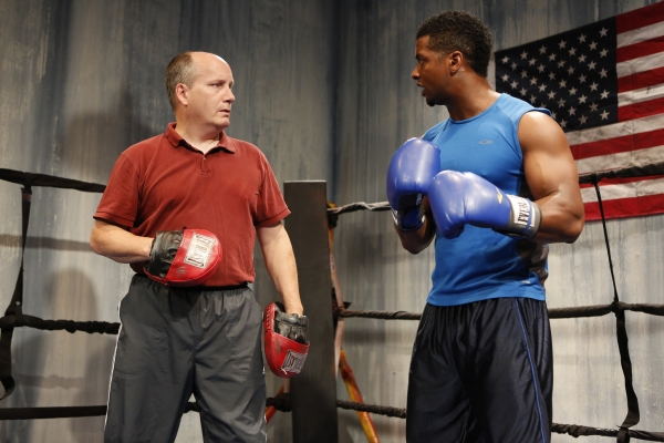 Photo Flash: First Look at Kamal Angelo Bolden and Guy Van Swearingen in A Red Orchid's THE OPPONENT Off-Broadway