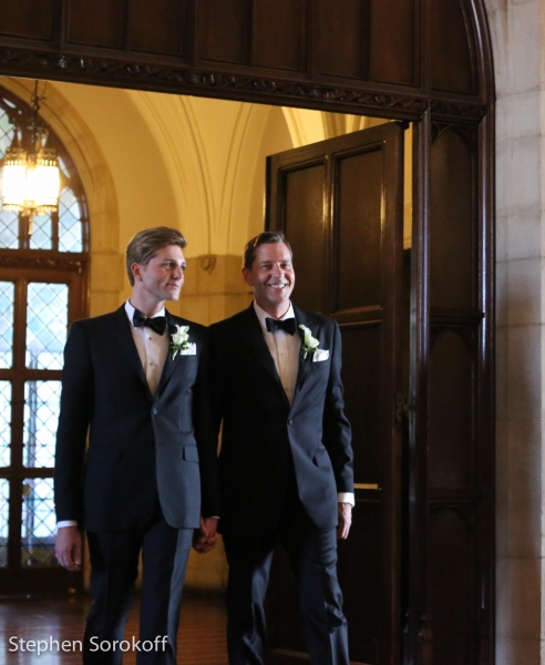 Photo Coverage: New York Pops Conducter Steven Reineke Weds Eric Gabbard in Star-Studded Ceremony