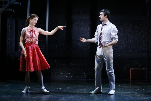 JESSE WILDMAN as Brynja and MARRICK SMITH as Peter
