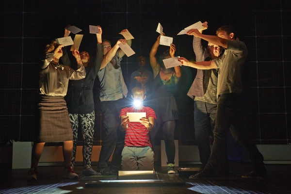 Photo Flash: Sneak Peek at THE CURIOUS INCIDENT OF THE DOG IN THE NIGHT-TIME, Coming to Broadway This Fall