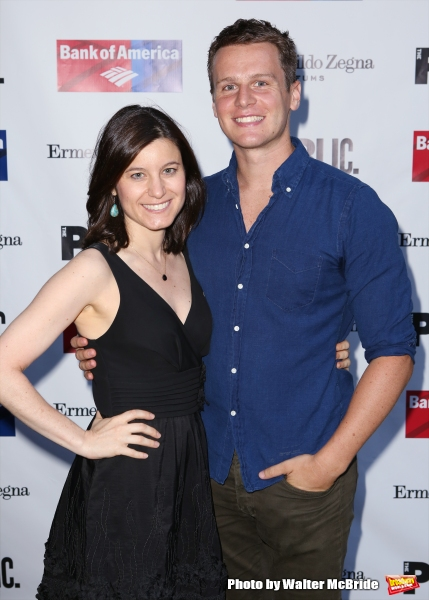 Susan Pourfar and Jonathan Groff