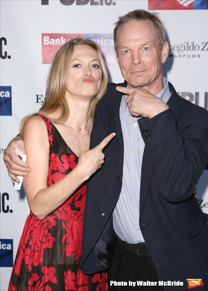 Marin Ireland and Bill Irwin