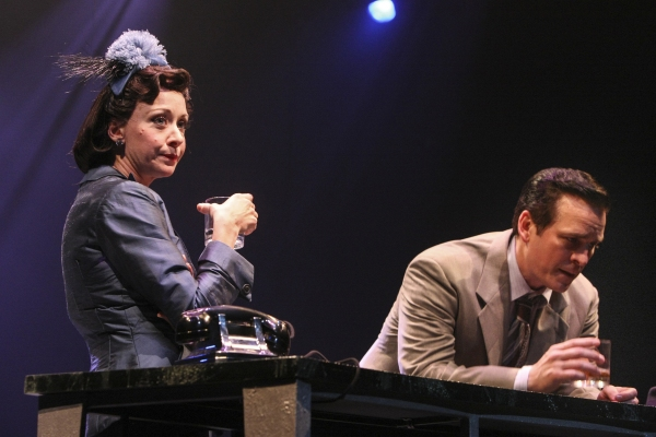 Karen Hyland (Jane Ashton) and Robert J. Townsend (Tommy Albright)