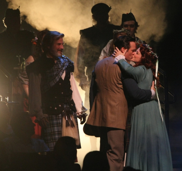Photo Flash: First Look at Robert J. Townsend, Jennifer Hope Wills and More in BRIGADOON at Music Circus