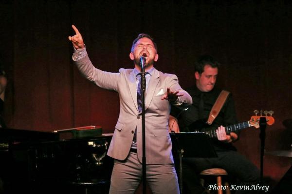Photo Flash: Daniel Reichard Performs in Broadway at Birdland Series