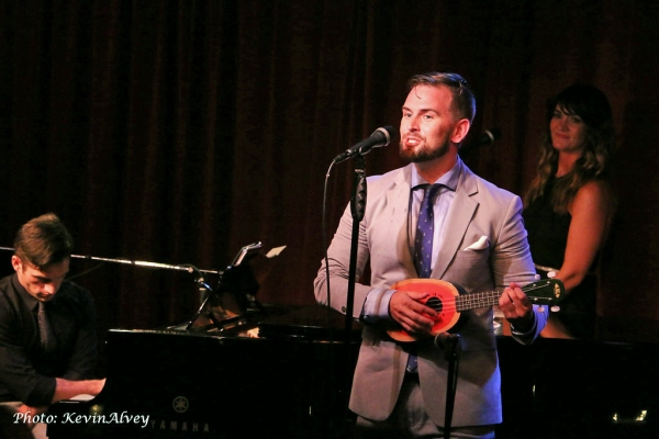 Photo Flash: Daniel Reichard Performs in Broadway at Birdland Series